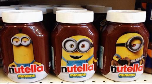 Potevano non fare anche un barattolo della Nutella dedicato a ciascuno dei nostri eroi?